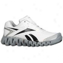 Reebok Zigactivate - Mens - White/black/pure Silver/excellent Red