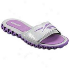 Reebok Zignano Sport Slide - Womens - Tin Grey/major Purple