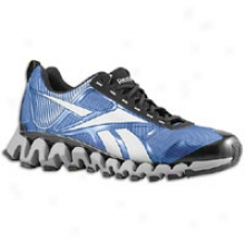Reebok Zigreetrek Tr - Mens - Black/flat Grey/industrial Blue/frenchy Blue