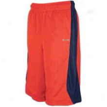 Reebok Zigtech Franchise Short - Mens - Red Attack/sound Blue/white