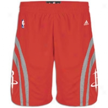 Rockets Adidas Nba Swingman Short - Mens - Red/grey