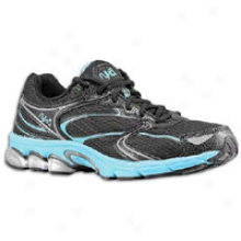 Ryka Revive 3 - Womens - Black/metallic Steel Grey/detox Blue/white