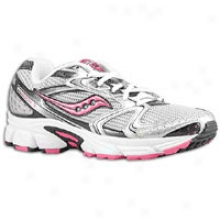 Saucony Cohesion 5 - Womens - Silver/black/pink