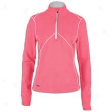 Saucony Drylete L/s Sport Top - Womens - Vizipro Pink