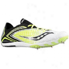 Saucony Endorphin Ld 3 - Mens - White/black/citron