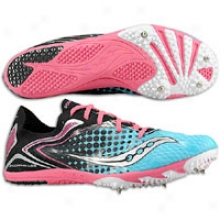 Saucony Endorphin Ld 3 - Womens - Blue/black/pink