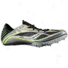 Saucony Endorphin Md 3 - Mens - Black/slime