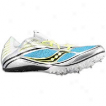Saucony Endorphin Md 3 - Womens - Silver/blue/black