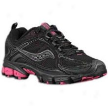 Saucony Grid Excursion Tr 6 - Womens - Black/vizipro Pink