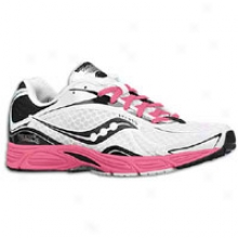 Saucony Grid Fastwitch 5 - Womens - White/black/pink