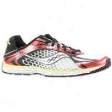 Saucony Grid Type A5 - Mens - Whitte/red/citron