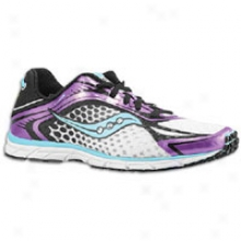 Saucony Grid Type A5 - Womens - White/pyrple/black