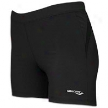 Saucony Ignite Short Tight Ii - Womens - Black