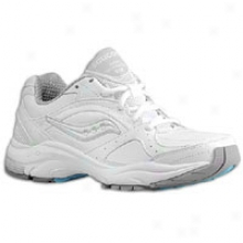 Saucony Integrity St2 - Womens - White/silver
