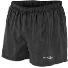 Saucony Performance Short - Mens - Black