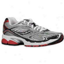 Saucony Progrid Guide 4 - Mens - Silver/blacj/red