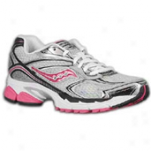 Saucony Progrid Mentor 4 - Womens - Silver/black/pink