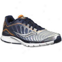 Saucony Progrid Kinvara 3 - Mens - Navy/silver/orange