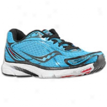 Saucony Progrid Mirage 2 - Mens - Blue/red