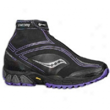 Saucony Progrid Razor 2.0 - Womens - Black/purple