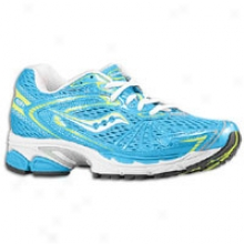 Saucony Progrid Ride 4 - Womens - Blue/citron