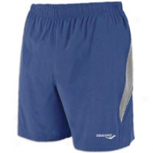 Saucony Run Lux Ii Short - Mens - Navy/element