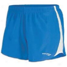 Saucony Run Lux Ii Short-  Womens - Blue Crush/white