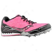 Saucony Velocity 4 - Womens - Vizipro Pink/black