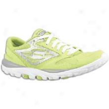 Skechers Go Run - Womens - Lime/white