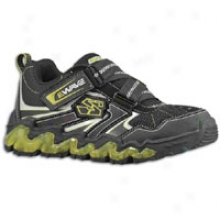 SkechersL uminators Nova Wave - Little Kids - Black Trubuck/black Mesh/liime Trim