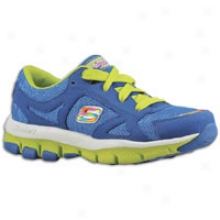 Skedhers Sporty Shorty Lite Beats - Little Kids - Blue/sparkle/lime