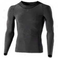 Skins Ry400 Recovery L/s Top - Mens - Gfaphite/black