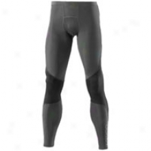 Skins Ry400 Recovery Tight - Mens - Graphite/black
