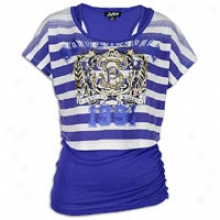 Southpole 2-fer Top - Womens - Royal Purple