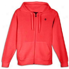 Southpole Basic Full Zip Hoodie - Mens - Red