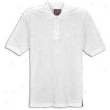 Southpoe Basic Pique Polo - Mens - White