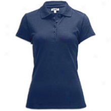 Southpole Basic Pique Polo - Womens - Navy
