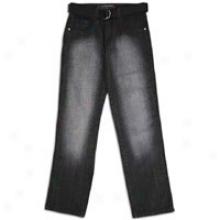 Southpole Basic Washed Denim W/belt - Mens - Black