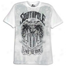 Southpole Caviar And Screen Print S/s T-shirt - Mens - Of a ~ color