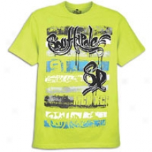 Southpole Caviar Print S/s T-shirt - Mens - Lime