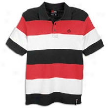 Southpole Cut And Sew S/s Polo - Mens - Red