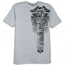 Southpole Flock And Inside Print S/s T-shirt - Mens - Lignt Grey