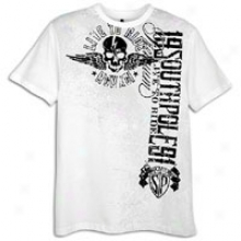 Southpole Flock And Sfreen Print S/s T-shirt - Mens - White