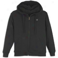 Southpole Fulll Zip Hoodie With Sherpa Lining - Mens - Black