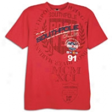 Southpole Graphic Hd Print S/ sT-shirt - Mens - Red