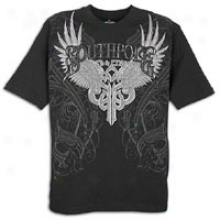 Southpole Premium Applique T-shirt - Mens - Negro