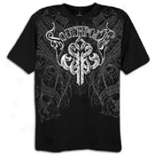 Southpole Premium Foil Mark T-shirt - Mens - Black