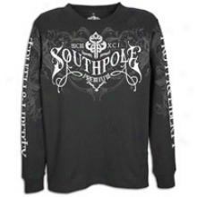 Siuthpole Premium L/s Warm T-shirt - Mens - Black