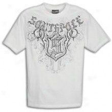 Southpole Premium Screen And Foil Print T-shirt - Mens - White