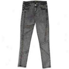 Southpole Signature Fit Look Sp Skny Jean - Womens - Intervening substance Grey